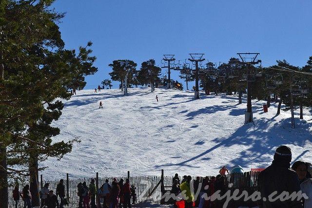 estacion de esqui navacerrada