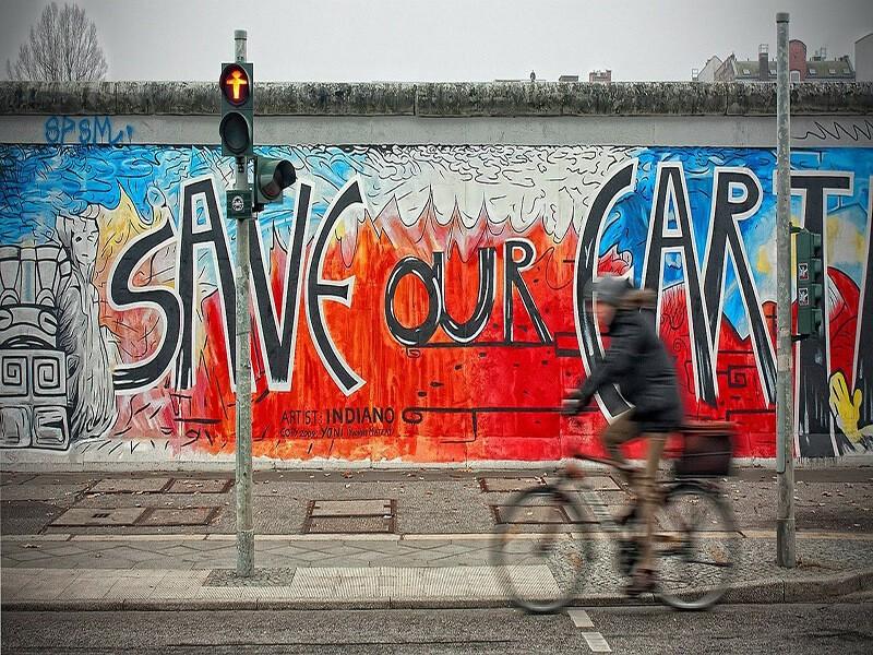 East Side Gallery, Berlín