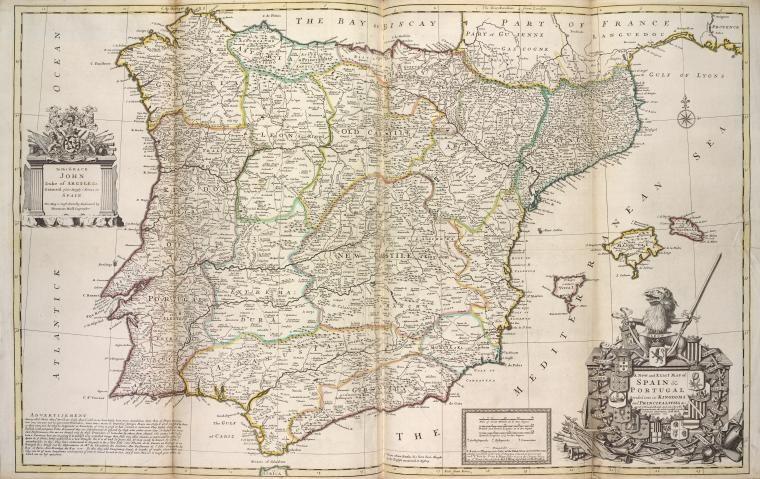 mapas historicos - España