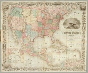 Mapas Historicós EEUU