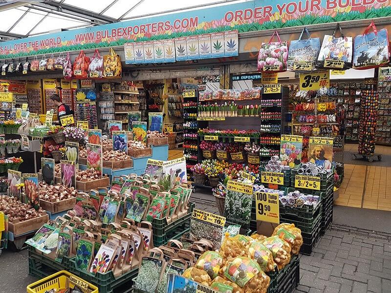 Mercado de Flores, Ámsterdam