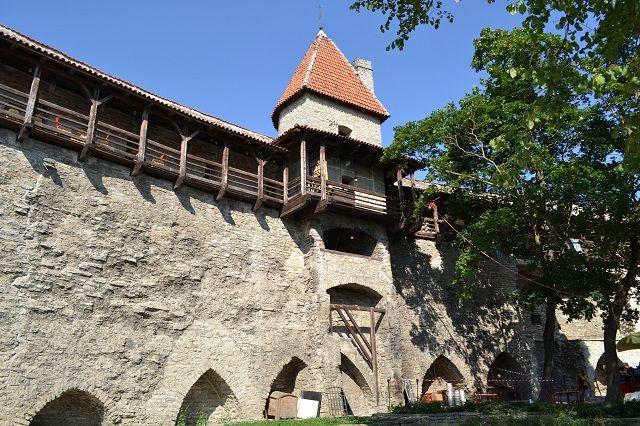 muralla de Tallin