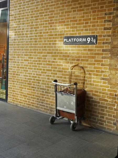kings cross harry potter