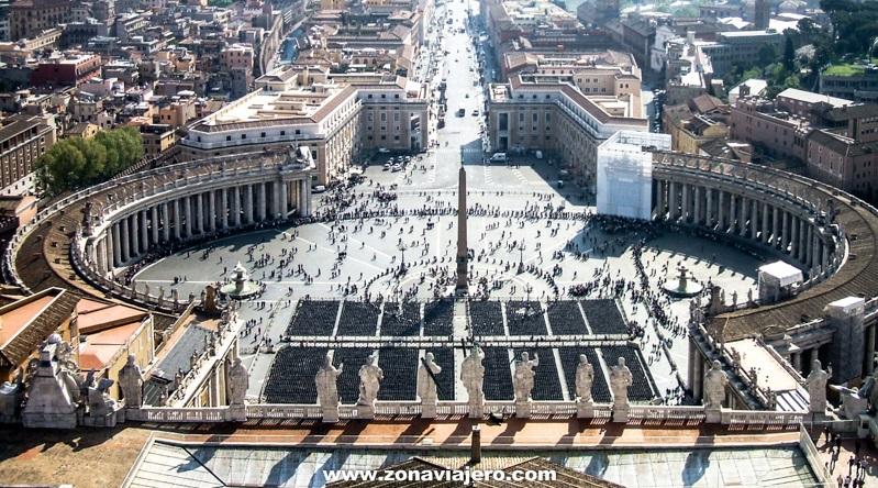 Plaza de San Pedro - Que ver en Roma en un día
