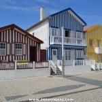 Costa Nova, el pueblo de las casas de colores