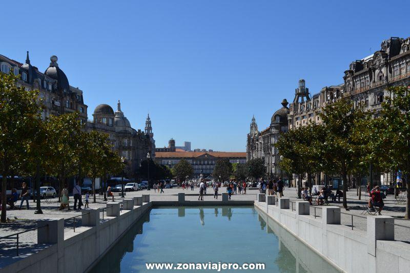 Plaza de la Libertad Oporto 2