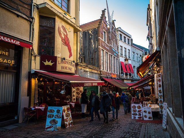 Rue des Bouchers Que ver en Bruselas