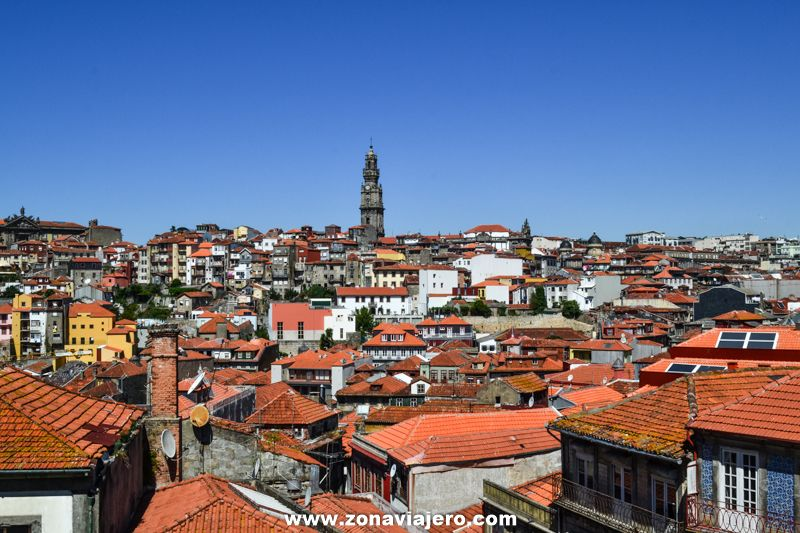 Vistas Catedral Oporto