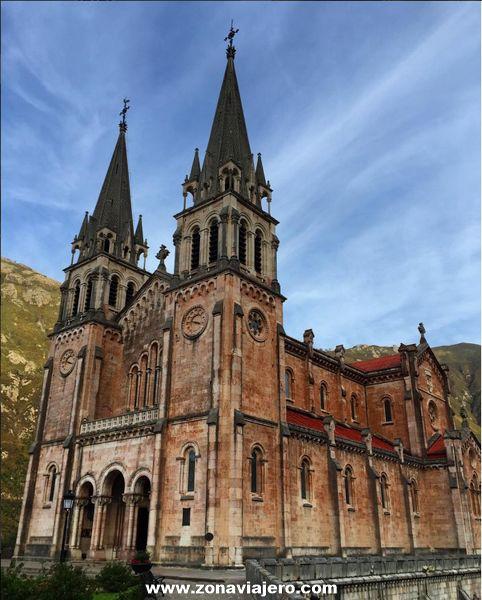 La Basílica de Santa María la Real de Covadonga - Asturias