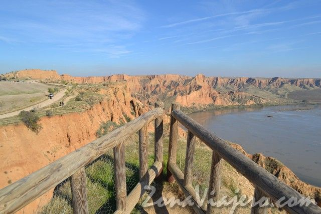 Las Barrancas de Burujón (Toledo), un paisaje espectacular