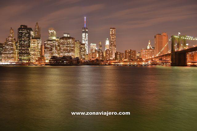Nueva York Skyline Noche