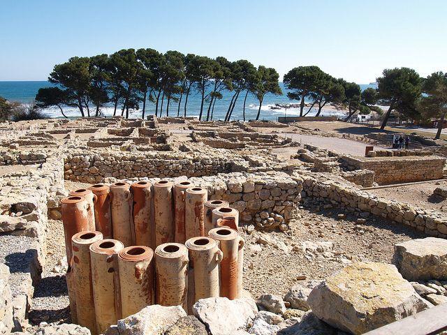 ampurias yacimiento romano