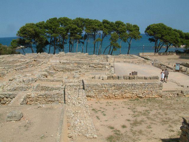 ruinas romanas ampurias