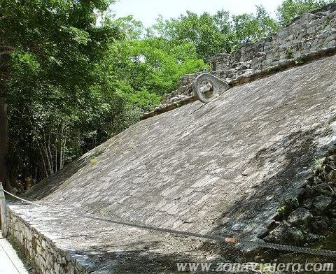 Campo juego pelota maya