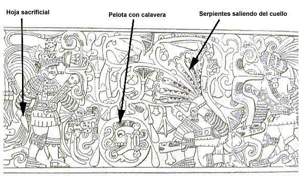 Chichén Itzá relieve