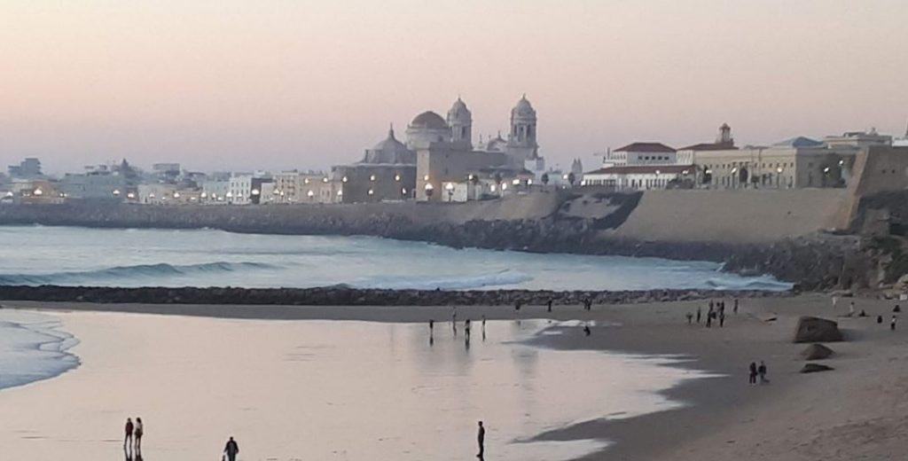 playa de Santa Maria del Mar Cadiz
