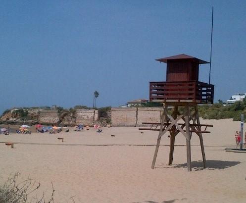 playa de la muralla cadiz