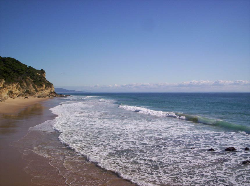 playa los Castillejos caños de meca