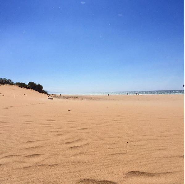 playas de cadiz sin viento levante