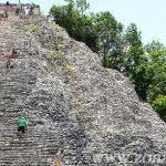 Cobá: contemplando el Yucatán desde una pirámide maya