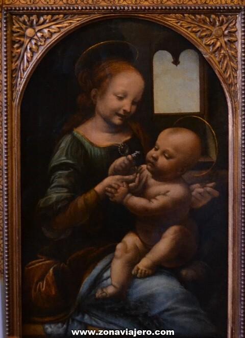 La Madona Benois Leonardo Da Vinci