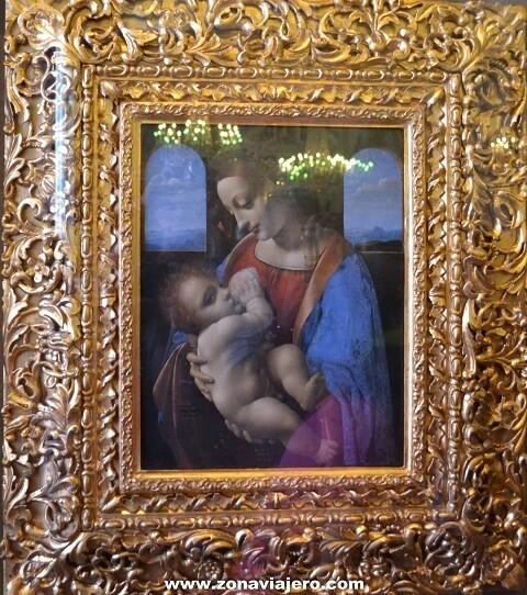 La Madona Litta - Leonardo Da Vinci