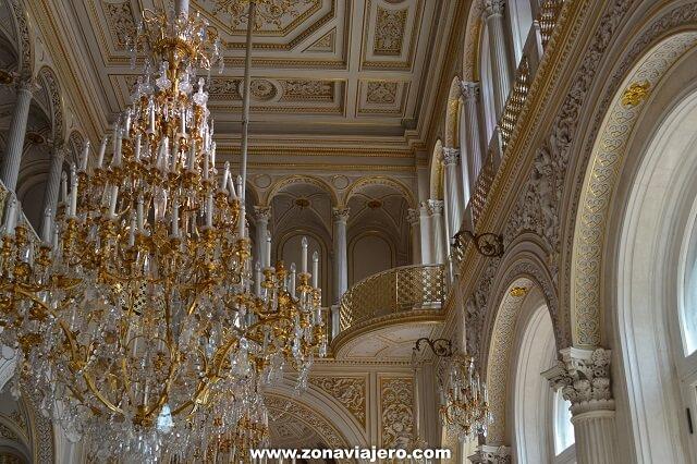 Museo Hermitage San Petersburgo decoración