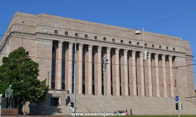 parlamento de Helsinki