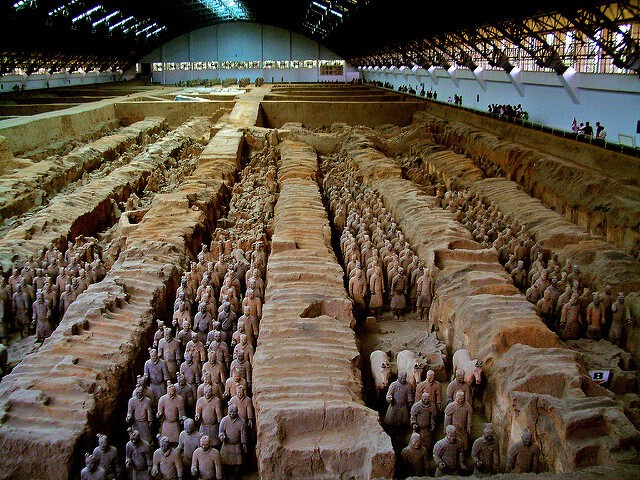 china terracota xian