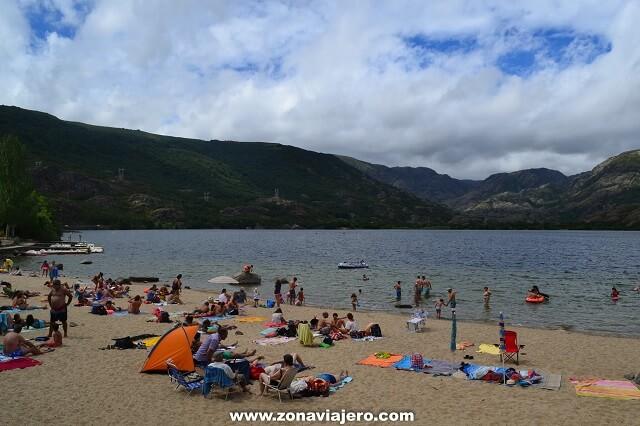 playa lago de sanabria zamora