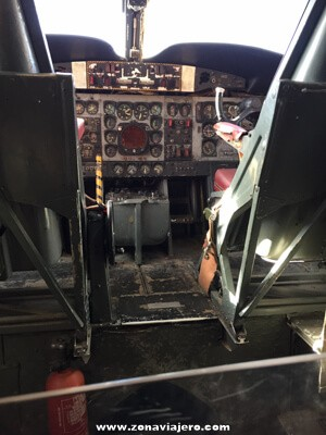 cabina Museo del aire