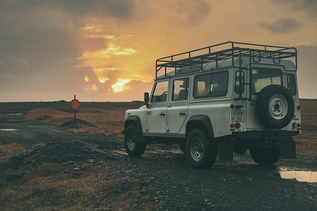 paisaje coche