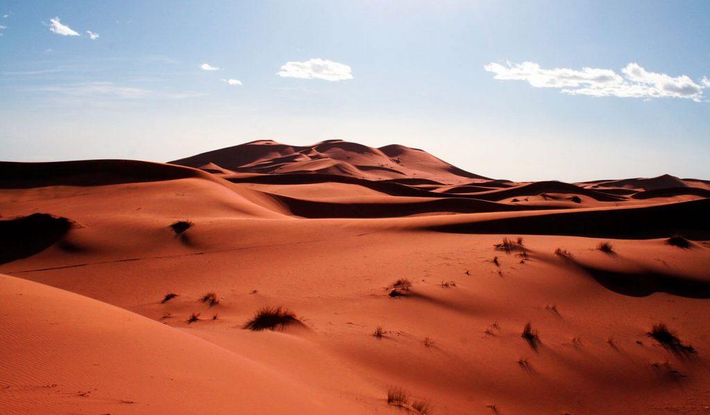 desierto sahara merzouga