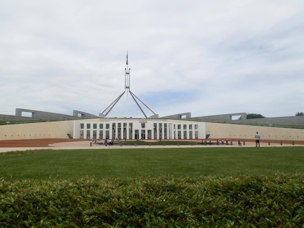 El parlamento de Canberra