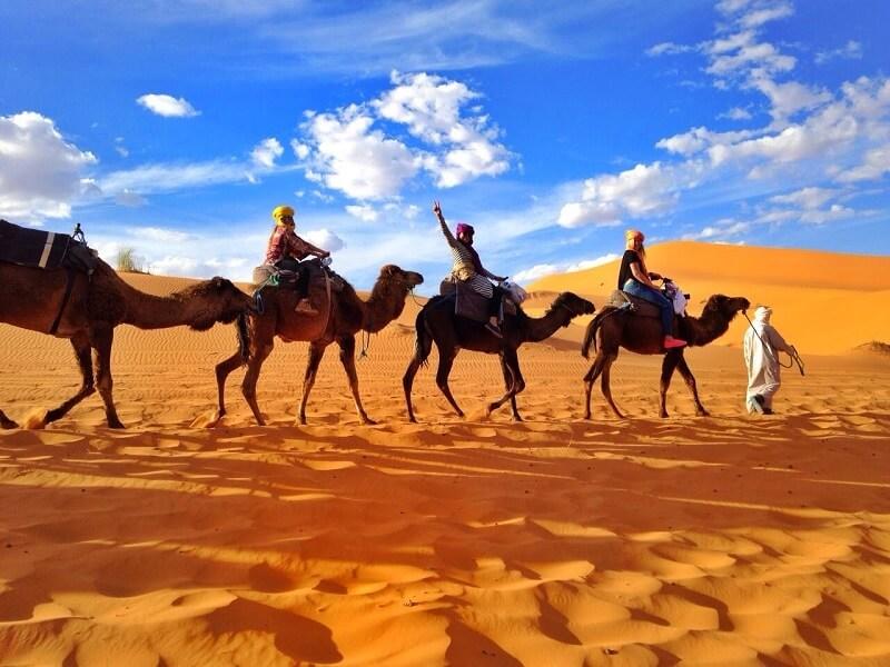 paseo por el sahara