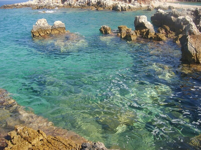 playa de Ksamil