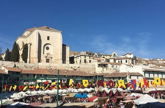 mercado medieval chinchon