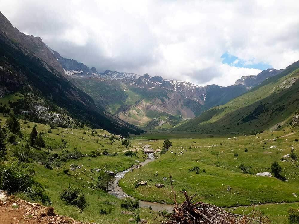 ruta por el pirinero aragones 5 dias