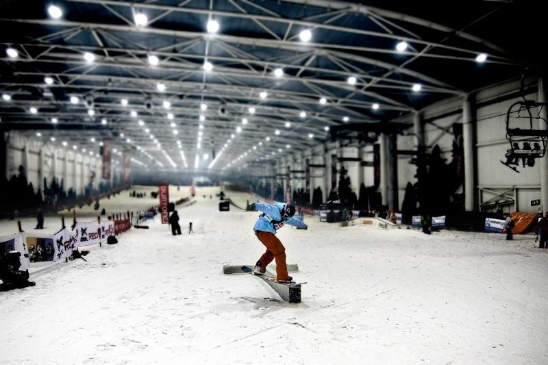 snowzone parque de nieve