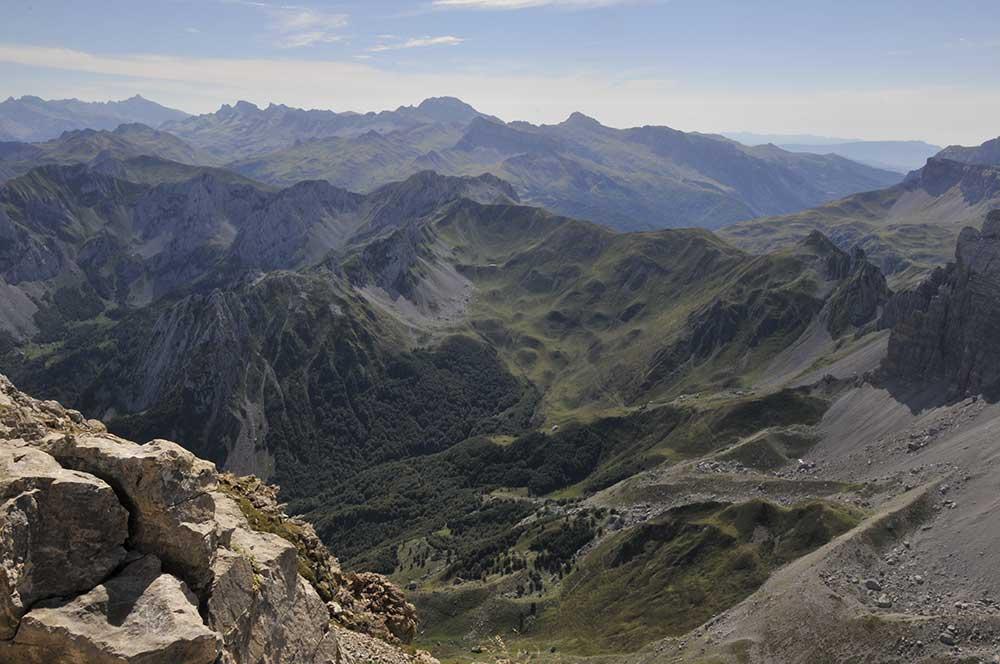 ruta por el pirineo navarro