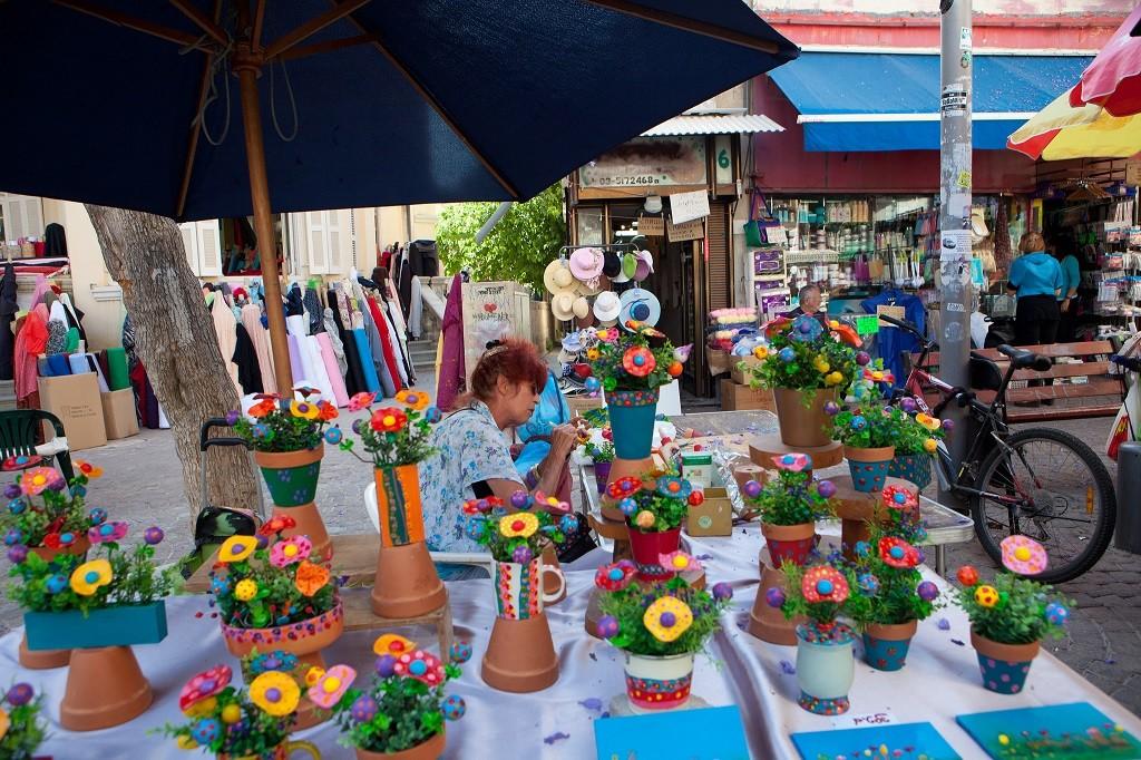 Nahalat Binyamin market