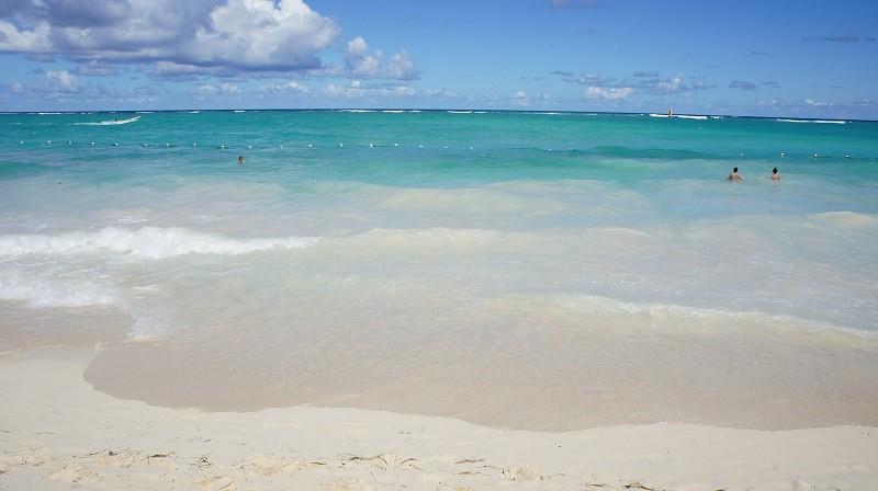 la mejor zona de playa de punta cana playa bavaro