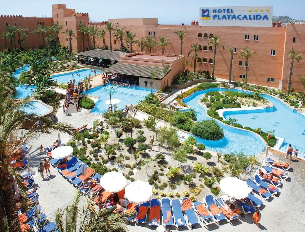 Hoteles con toboganes para familias en Granada