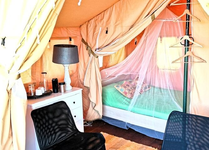 acampada de lujo malaga gampling