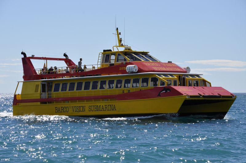barco vision submarina calpe