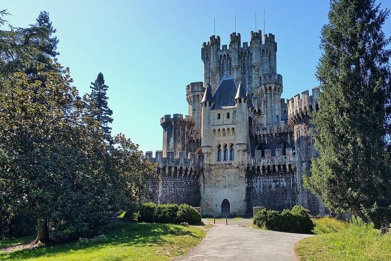 castillo butron planes con ninos pais vasco