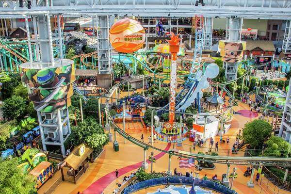 Nickelodeon Universe Minnesota