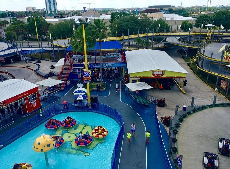 parque de atracciones Fun Spot America Orlando