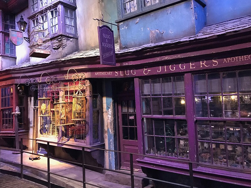 Estudio Harry Potter, Londres