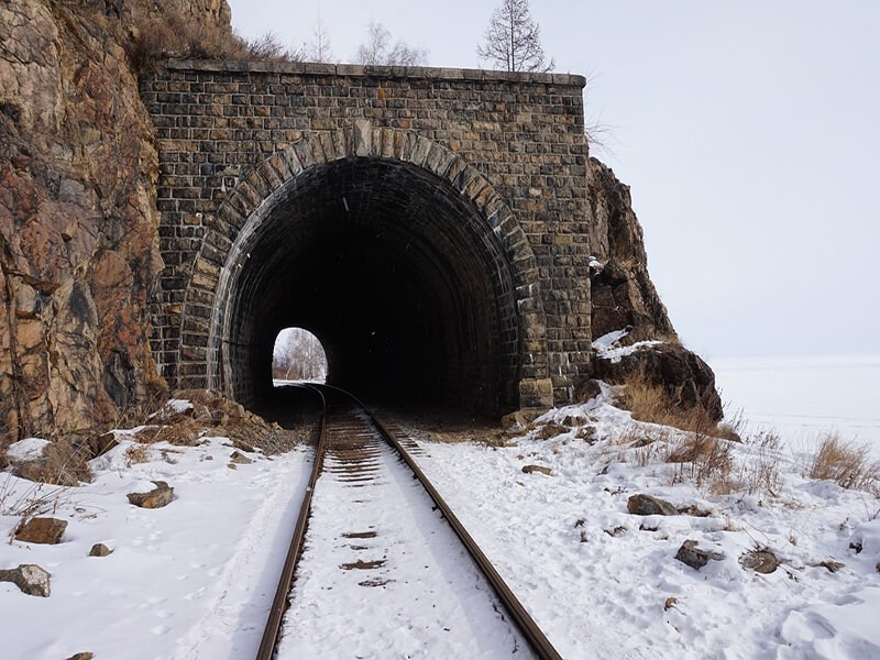 Túnel, Transiberiano
